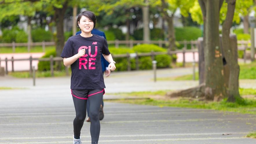 ◆ワーケーション「交流」:ジョギング