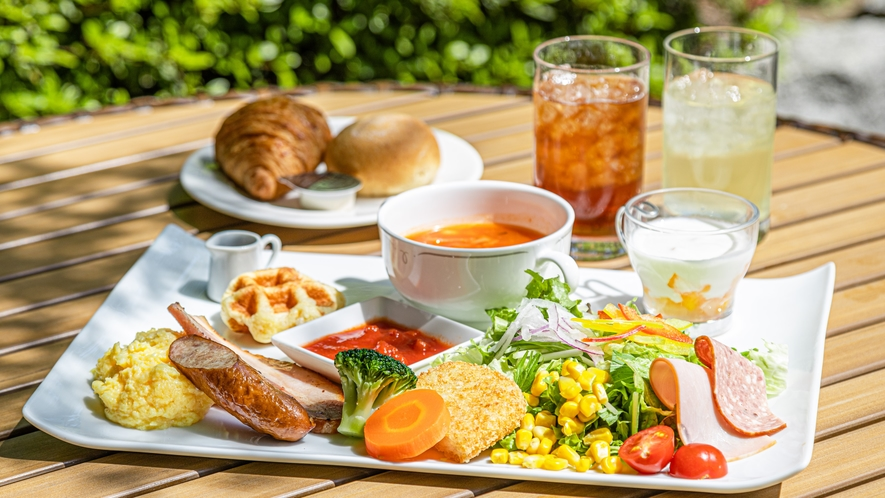 ◆朝食「洋食プレート」:イメージ