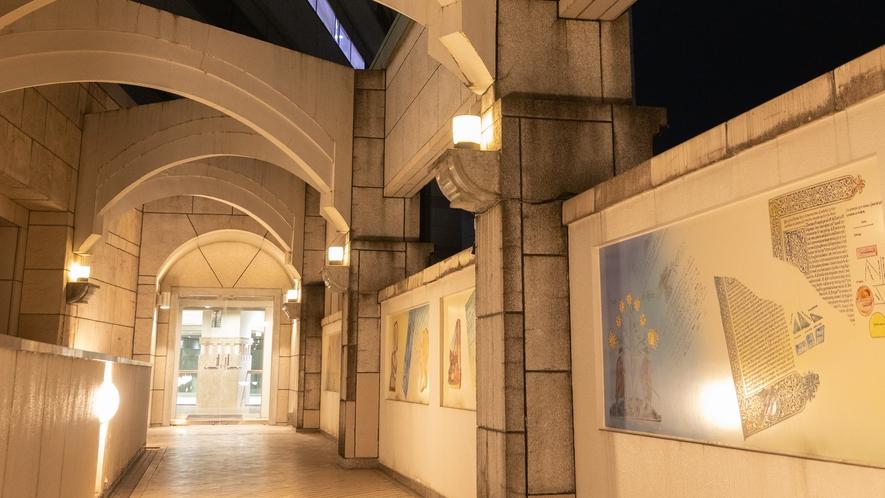 ◆かながわサイエンスパーク「回廊」2