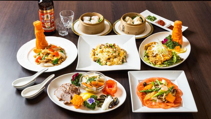 ◆夕食「中華コース」