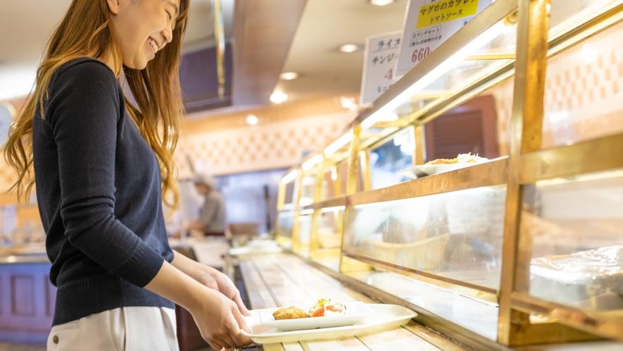 ◆レストラン「ウィズアスマイル」:カウンター