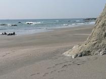 デイオフ前のビーチ