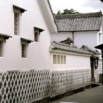 萩城下町の風景(菊屋横丁周辺)