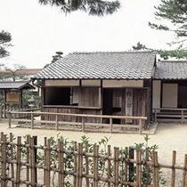 松下村塾までお車で約8分♪ 松陰先生の教えを受けた数多くの維新の志士たちを輩出しました。