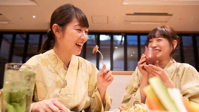 世界三大珍味を一皿に!+ブッフェ(バイキング)で2人だけの豪華ディナー♪(みずのね29㎡2名様限定)