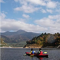カヌー☆湖上の水上お散歩