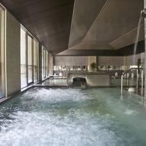 【大浴場】天狗の湯 打たせ湯 バブルバス