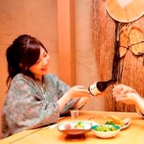 1F【和食処・さざん亭】20:00〜0:00(ラストOD 0:00)