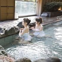 【大浴場】天狗の湯 露天風呂で湯ったり