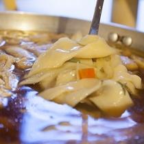 心まであったまる♪上州の郷土料理おっきりこみ♪ご夕食ブッフェ(バイキング)