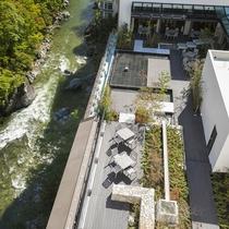 7F【水のテラス】屋上庭園