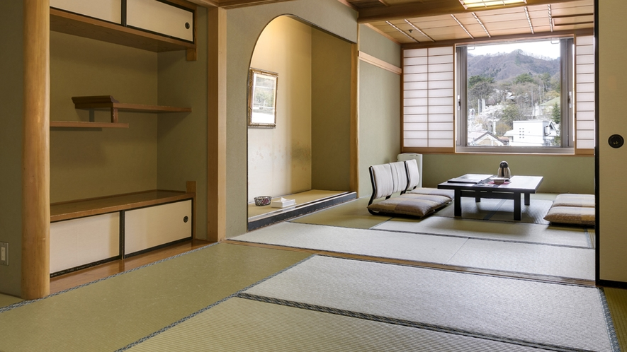和洋室【10畳+6畳+ツインベッドルーム】
