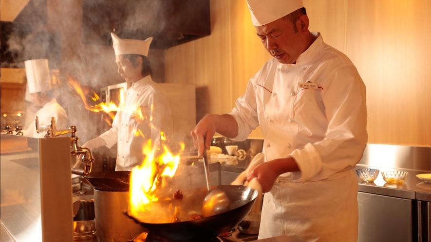 中華料理は炎の魔術師♪ご夕食ブッフェ(バイキング)