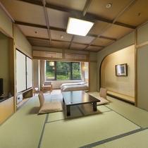 和洋室◇利根川を臨む【10〜12畳+ツイン】