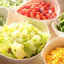 群馬産の新鮮お野菜がたっぷり♪ご夕食ブッフェ(バイキング)