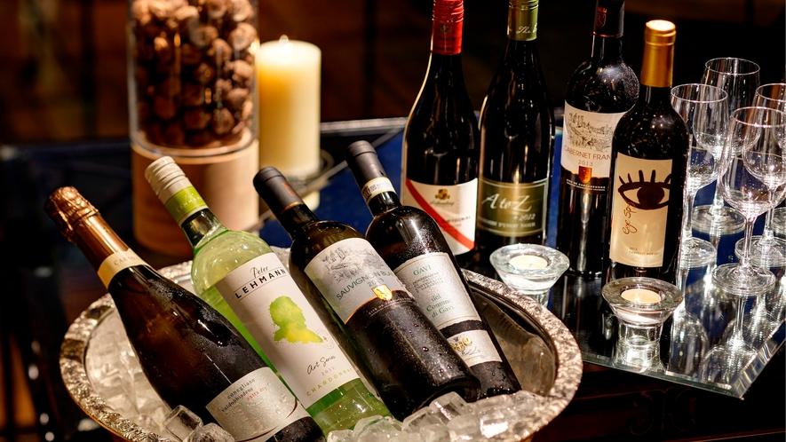 多数のワインをご用意しております