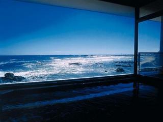 太平洋一望の日帰り湯ったりプラン 「食事処潮騒」絶景を大満喫♪