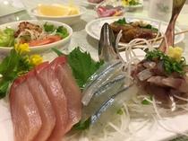 旬の魚の刺身