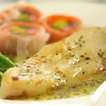 夕食-魚料理