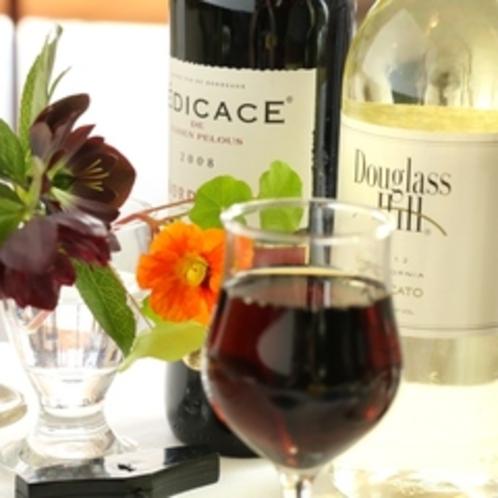 夕食-ワイン