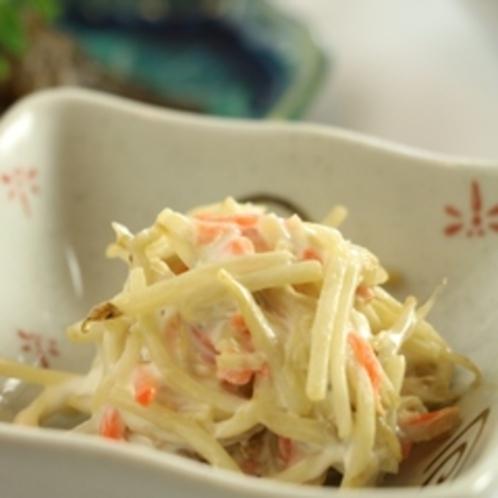 夕食-サラダ