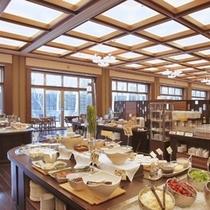 ■朝食ビュッフェ会場