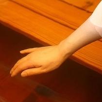 ■柔らかな肌ざわりの「モール温泉」イメージ