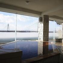 ■檜風呂/大浴場湯楽2階