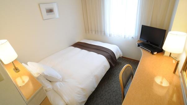 シングル【喫煙可】ベッドは130cm!