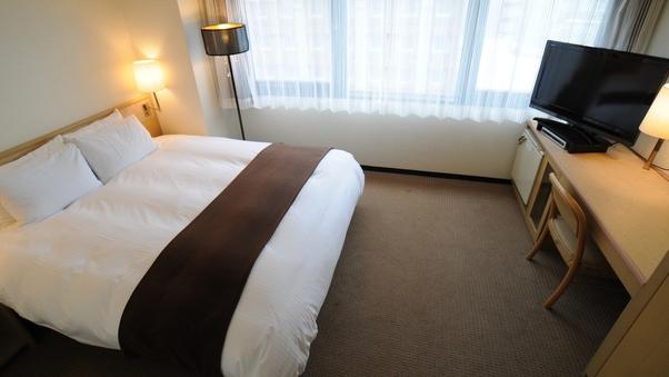 ダブル【禁煙】160cmのベッド1台