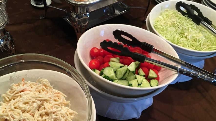 朝食日替わりサラダ