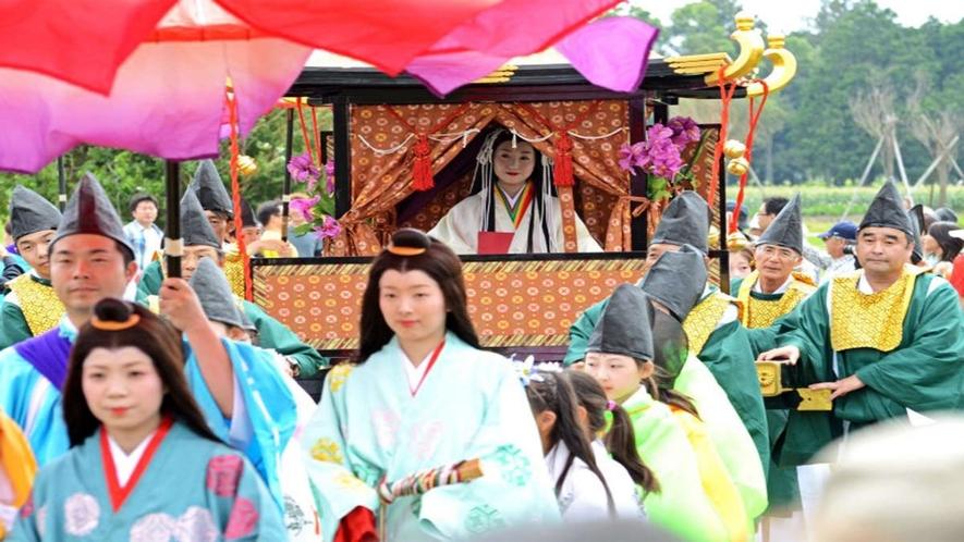 「斎王まつり」お隣の明和町の大祭り
