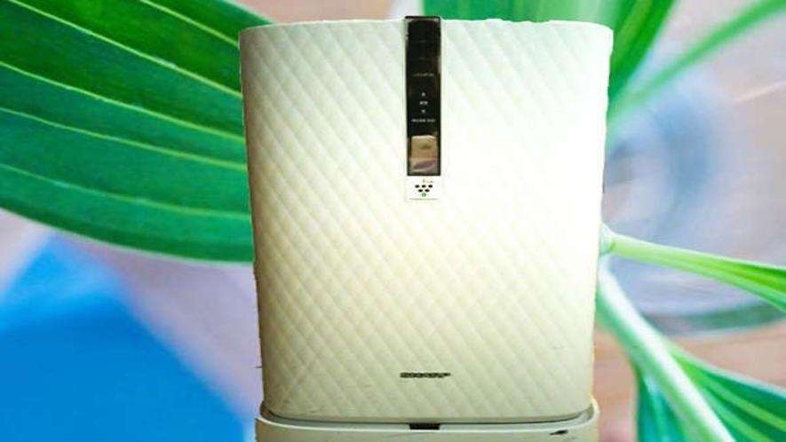 加湿器付き空気清浄機も貸出しております。