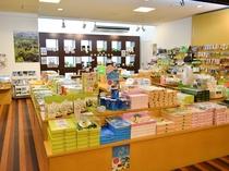売店7:00-21:00営業(小豆島の名産品を取り揃えております)