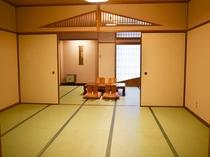 和室10畳+10畳 家族旅行、グループ旅行に人気♪(バス・トイレ付き)
