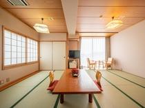 海側和室14畳(バス・トイレ付き)