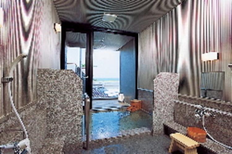 """海の見えるテラス付きの貸切風呂""""巌"""""""