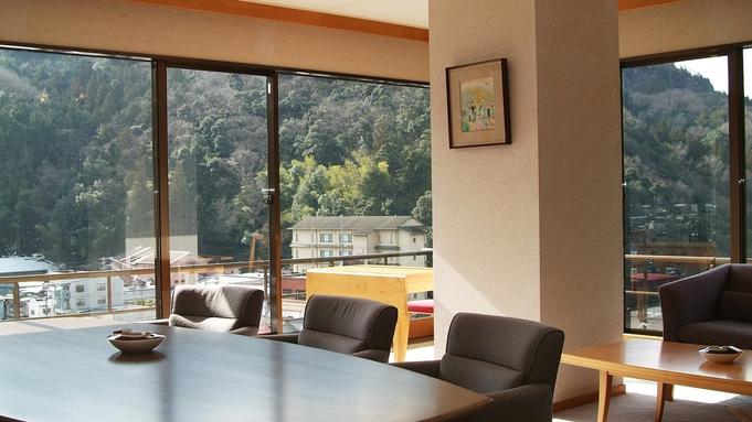 【個室食】貴賓室:憧れの露天風呂付き貴賓室「桜川」プラン
