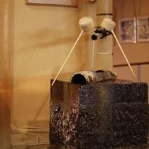 ラジウム温泉の飲泉場