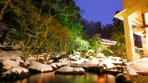 ■冬の依水園