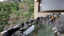 ■【露天風呂付き貴賓室桜川】展望露天風呂 温泉使用