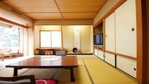 ■【露天風呂付き貴賓室:桜川】和室