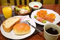 升形屋の朝ごはん(洋食)