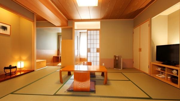 【函館山側】 露天風呂付客室 (和室10畳)