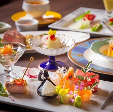 【1泊2食付】創作コース料理を和の空間とご一緒に #食事処/半個室