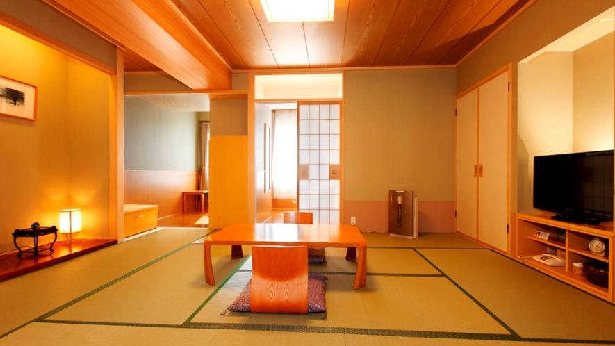 【函館山側露天風呂付客室和室10畳】