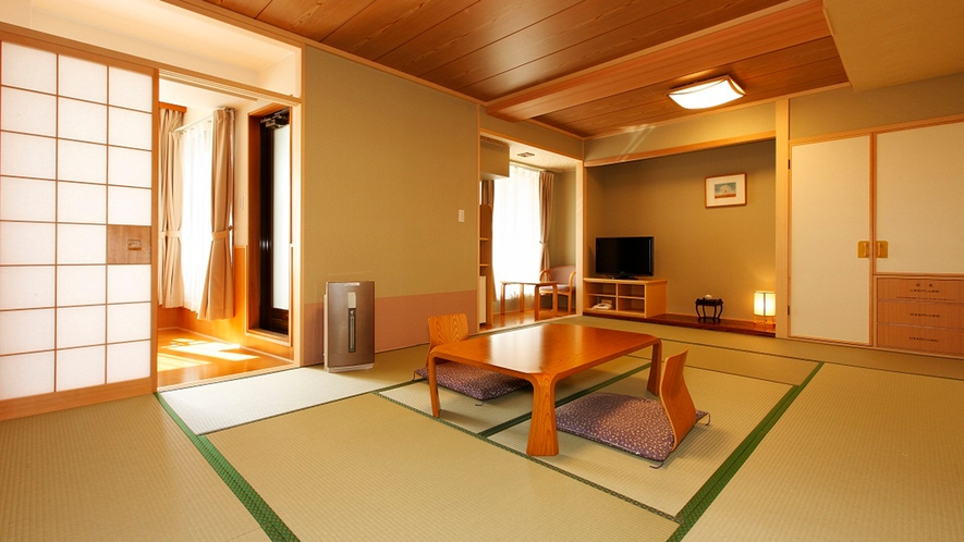 【函館山露天風呂付客室和室12畳】