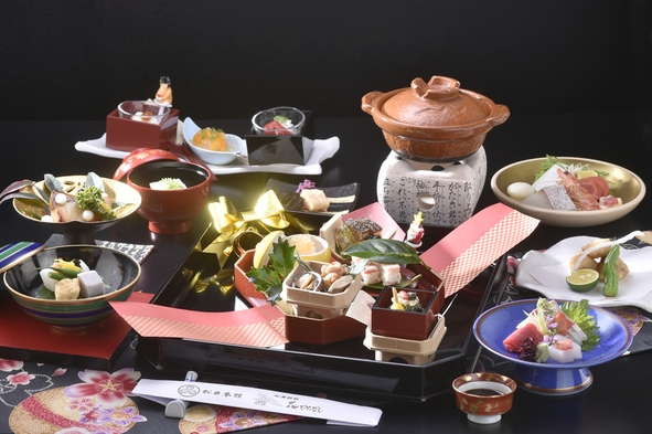 【1人旅♪】季節の京懐石をお部屋でごゆっくり♪〈2食付き〉