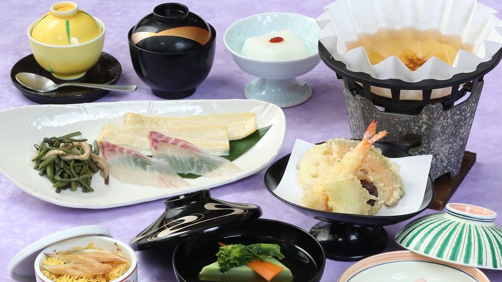 *【がんこコラボ夕食】季節の魚しゃぶ・けやきコース