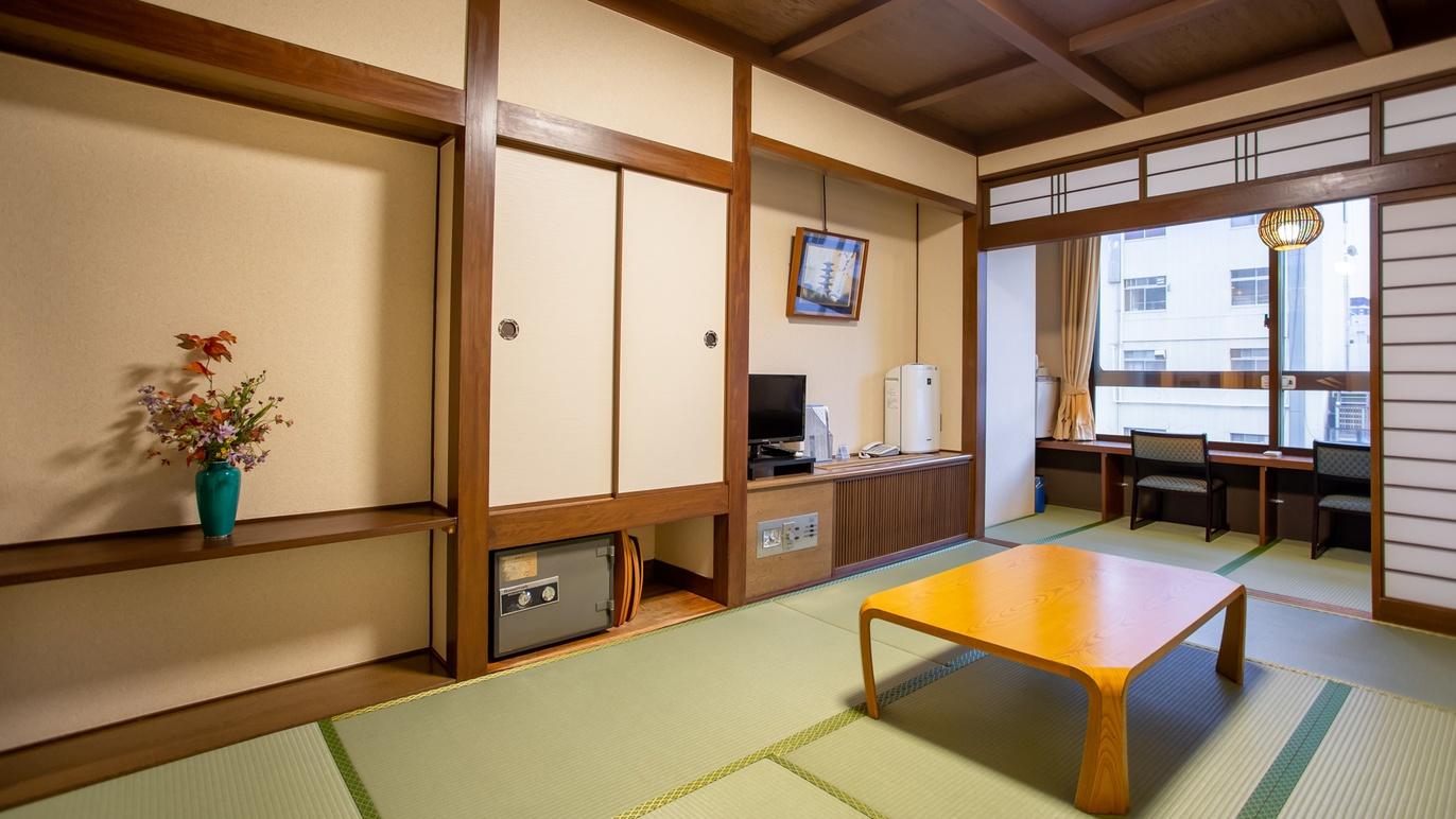 *【和室8畳一例】広縁は道頓堀川を望む、珍しいカウンタースタイル。